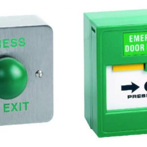 Exit Button/Break Glass