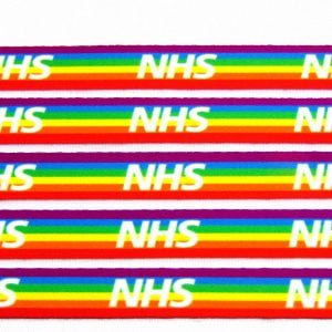 NHS Rainbow Lanyard - Pack of 5