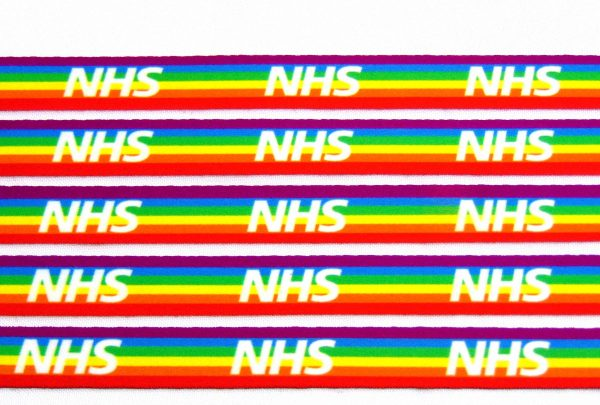 NHS Rainbow Lanyard - Pack of 5