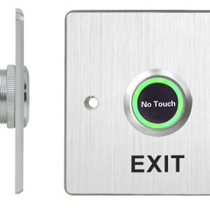 No Touch Press to Exit Button